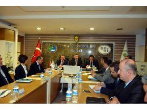 DSİ Daire Başkanları Antalya'da