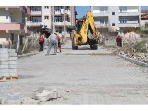 Kavak'ta Sokaklar Temizleniyor