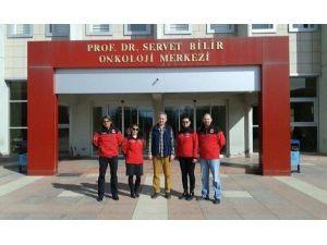 Dak Ekibinden Onkoloji Merkezi'ne Ziyaret