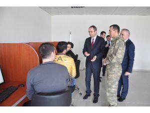 Kaymakam Kubilay Ve Protokol Üyelerinin Çemyo Ziyareti