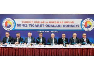 Deniz Ticaret Odaları Konseyi Toplandı