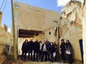 İstanbul Teknik Üniversitesi Ekibi, Balaban'da Çalışma Yapıyor