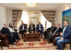 Bulgar Heyetten Vali Vekili Tanç'a Nezaket Ziyareti