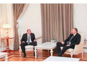 Azerbaycan ve Gürcistan cumhurbaşkanları görüştü