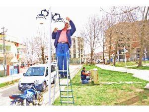 Parklarda Elektrik Bakım Çalışmalarına Başlandı
