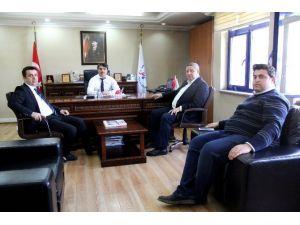 AK Parti Heyetinden Spor İl Müdürüne Ziyaret