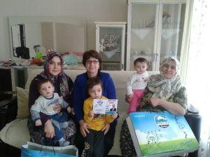 Söke'de Bir Yılda 968 Bebek Ziyaret Edildi
