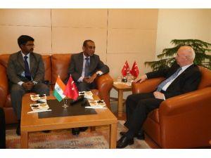 Hindistan Ankara Büyükelçisi'nden Valilik Ziyareti