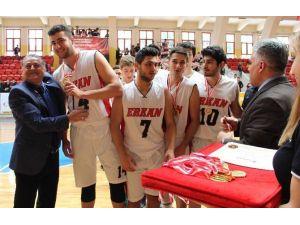 Erkan Koleji, Basketbolda Adana Şampiyonu Oldu