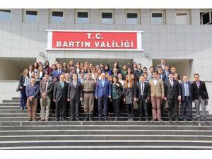 Vali Azizoğlu, Aday Öğretmenlerle Buluştu
