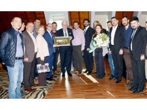 AK Parti Mudanya İlçe Teşkilatından Bursaspor'a Ziyaret