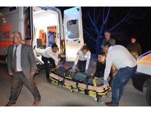 Tokat'ta Otomobil Takla Attı: 2 Yaralı