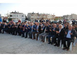 Tarsus'tan Suriye'ye 9 TIR yardım gönderildi