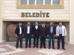 Tanrıver Ve Açıkgöz'den Kaymaklı Belediyesi'ne Ziyaret