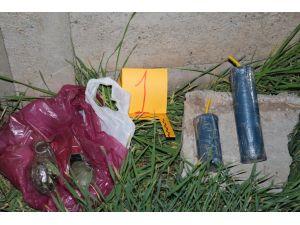 Batman'da bir mezarlıkta 2 el bombası bulundu