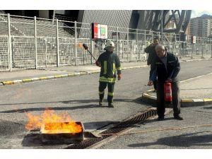 Spor Etkinlikleri A.ş. Yangın Eğitimleri Başladı