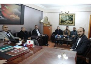 AK Parti Ağrı İl Başkanı Atmaca'dan Agc'ye Ziyaret
