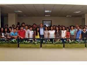 Mutlu Ve Türk, YGS'ye Girecek Öğrencilere Başarılar Diledi