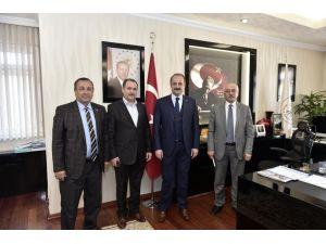 Gümüşhaneli derneklerden Başkan Akgül'e ziyaret