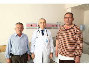 Yüzde 100 tıkalı kalp damarları başarıyla açıldı