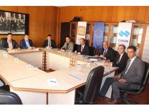 İlçe Milli Eğitim Müdürleri Samsat'ta Toplandı