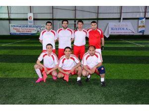 Halı Saha Futbol Turnuvası'nda Heyecan Dorukta
