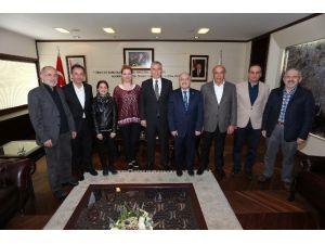 Kızılay'dan Başkan Zolan'a Ziyaret