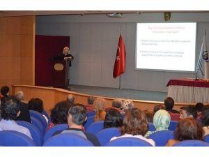 ESOGÜ'de Glokom Konulu Halka Açık Panel Düzenlendi