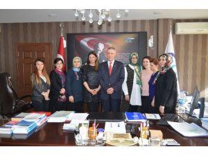 Aksaray SGK'da Kadınlar Günü Kutlandı