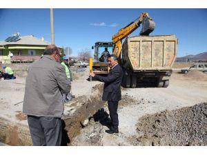 Seydişehir'de İçme Suyu Hatları Yenileme Çalışmaları
