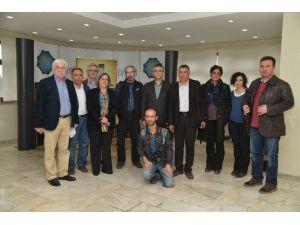 Gazetecilerden Eş Başkanlara Ziyaret