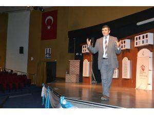 YGS öncesi öğrencilere başarı ve motivasyon semineri düzenlendi