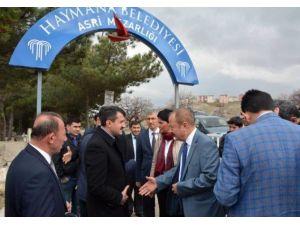 Ankara Büyükşehir Belediyesinden Haymana'ya Hizmet Atağı