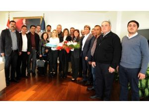 Kuyucak CHP Ve TEMA'dan Başkan Çerçioğlu'na Ziyaret