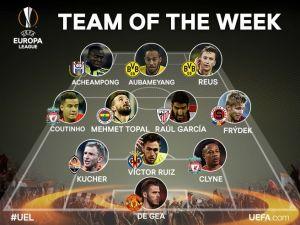 Mehmet Topal UEFA Avrupa Ligi'nde haftanın oyuncusu seçildi