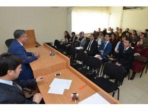 Aday Öğretmenlerden, Yeşilyurt Belediyesine Ziyaret