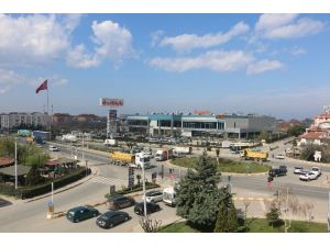 Çiftlikköy'de Kavşak İnşaatı Başlıyor
