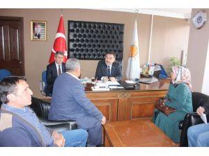 AK Parti Yozgat Milletvekili Soysal Halk Gününde Vatandaşın Sorunlarını Dinledi