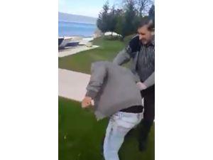 MHP İlçe Başkanı, Uyuşturucu Satıcısını Tekme Tokat Dövdü