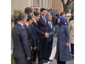 Sare Davutoğlu 'Aynı Gökkubbe Altında Gönül Dilimiz Türkiye' Toplantısına Katıldı