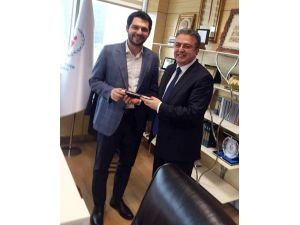 AK Partili Eski Milletvekili Coşkun, Bakan Yardımcısı Boynukalın'ı Ziyaret Etti