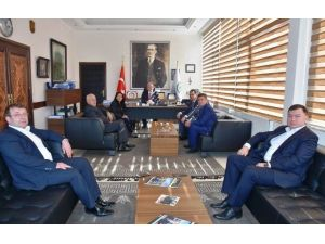 Bulgaristan Türk Milletvekillerinden Başkan Albayrak'a Ziyaret