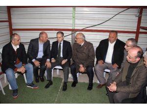Bakan Çağatay Kılıç'tan Başkan Togar'a Taziye Ziyareti