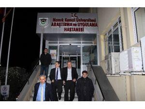 Vali Salihoğlu'nun Sağlık Durumu Ciddiyetini Koruyor