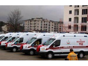 Bartın'a 4 Yeni Ambulans