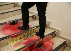 Kalorimatik Merdivenlerle Sağlıklı Kalıyorlar