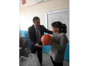 Başkan Ergün'den Minik Başkan'a Selam