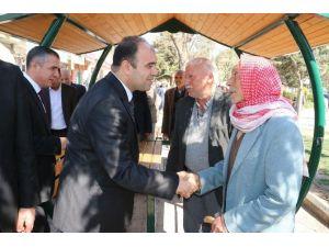 Büyükşehir Belediyesi Suruç'ta İstişare Toplantısı Gerçekleştirdi