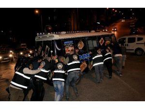 Seyyar Satıcılara Gece Operasyonu