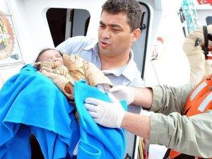 Şişme botta 51 yabancı uyruklu yakalandı